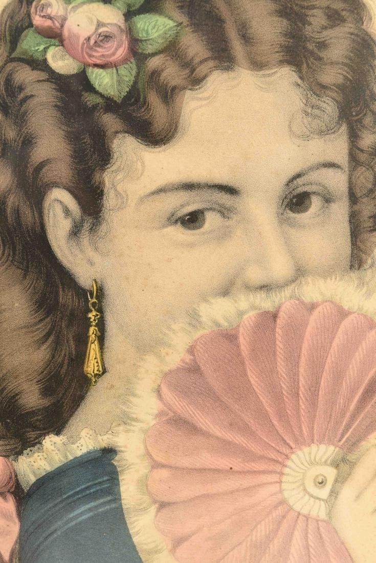 """CURRIER AND IVES """"FANNY"""" PRINT - 2"""