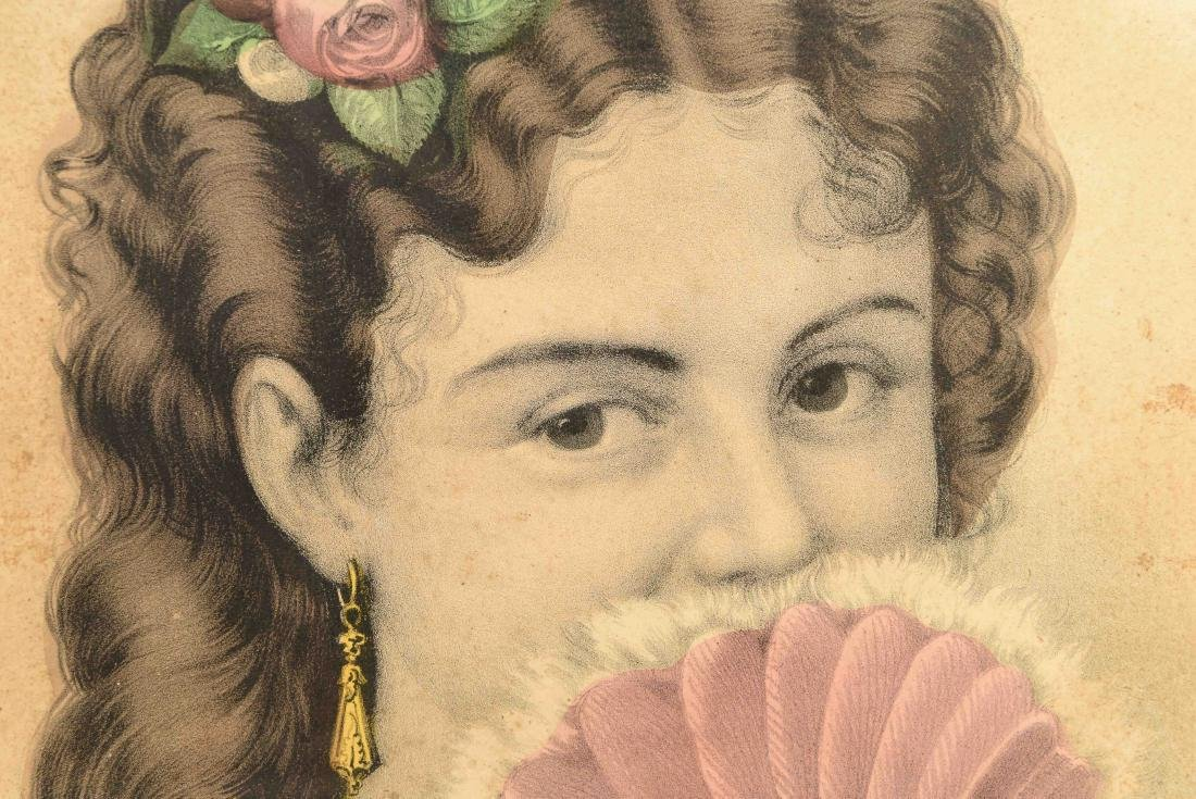 """CURRIER AND IVES """"FANNY"""" PRINT - 4"""
