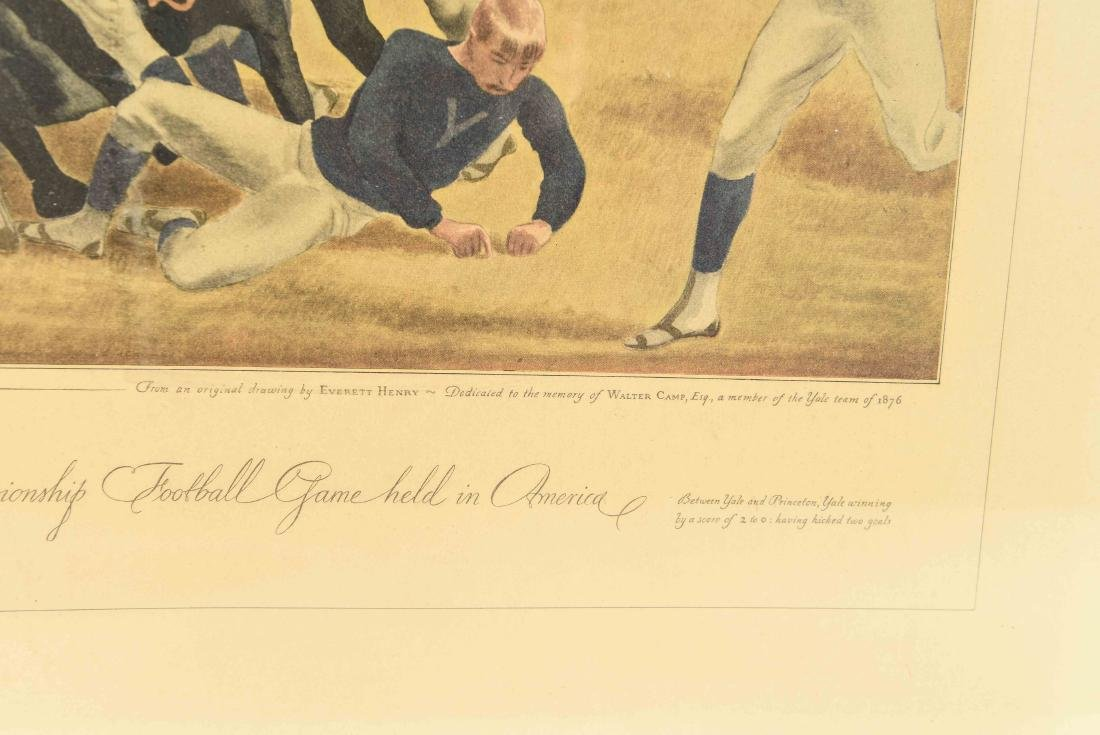 CURRIER & IVES FOOTBALL PRINT - 6