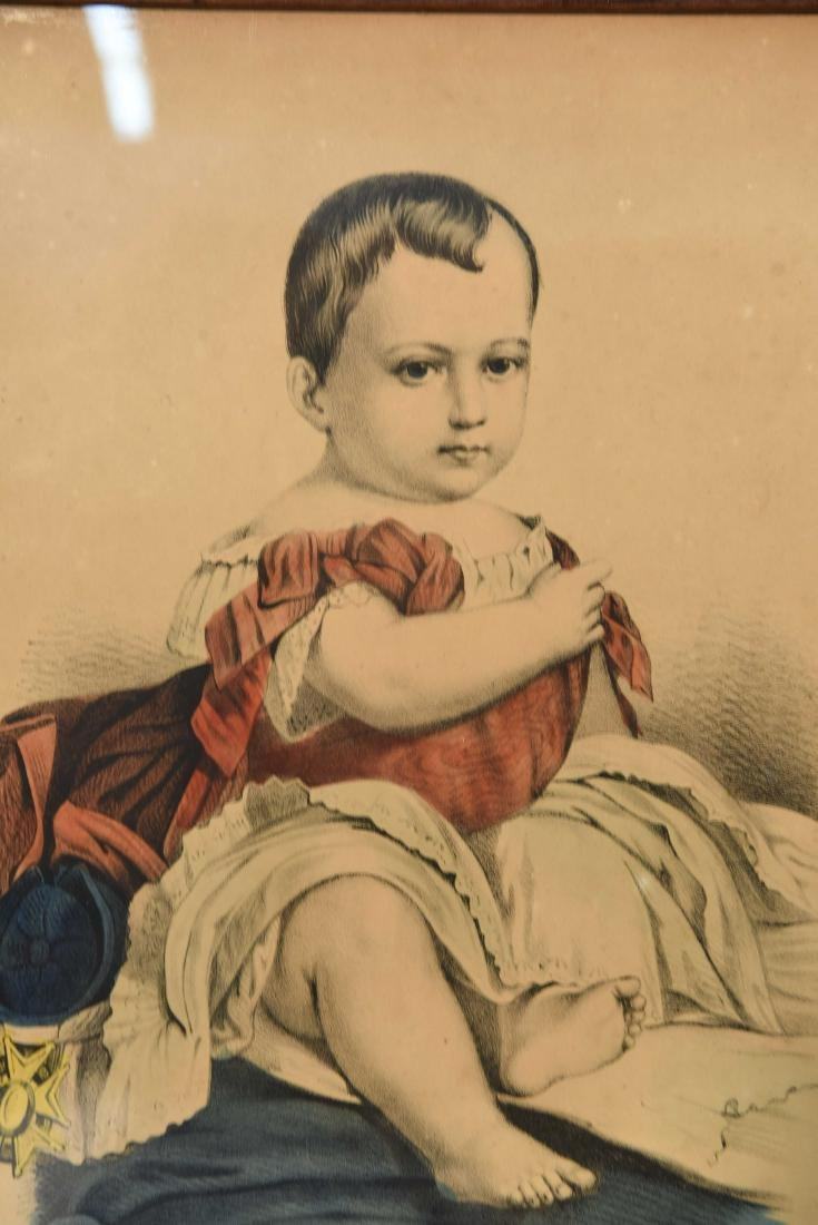 """CURRIER & IVES """"THE LITTLE EMPEROR"""" PRINT - 2"""