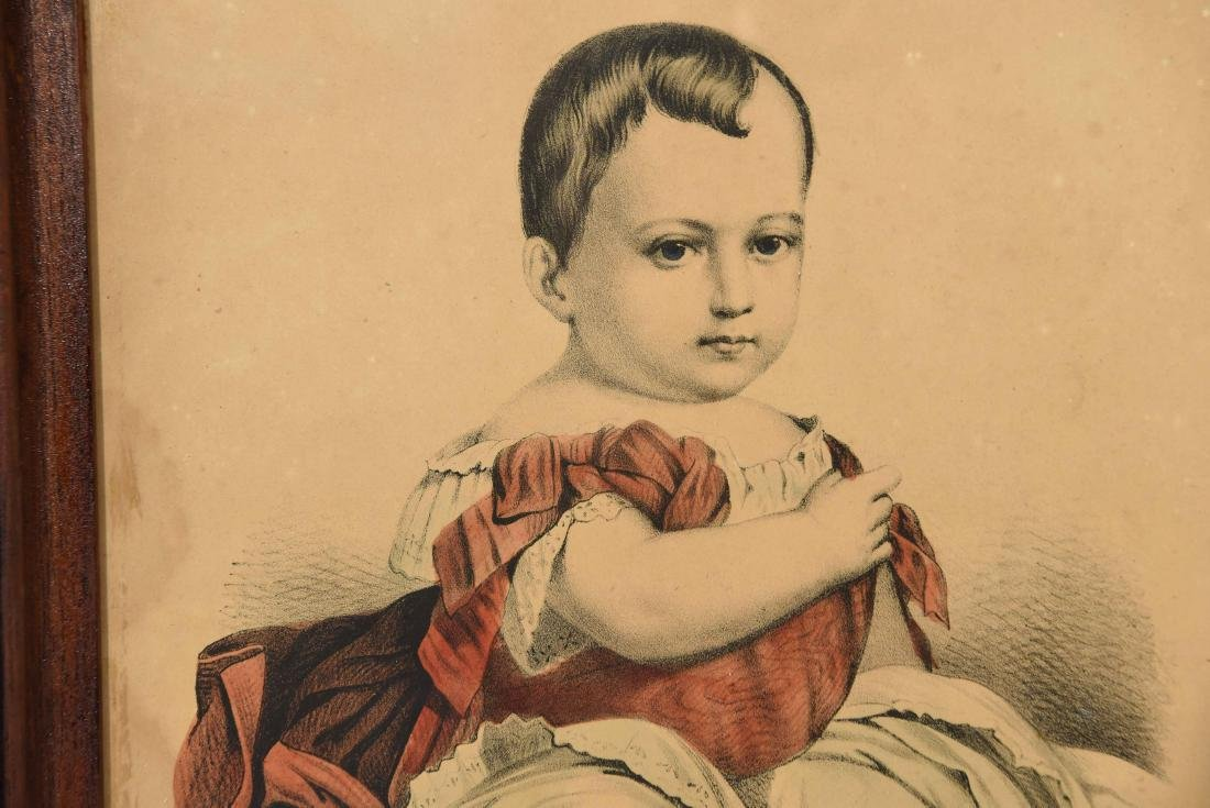 """CURRIER & IVES """"THE LITTLE EMPEROR"""" PRINT - 3"""