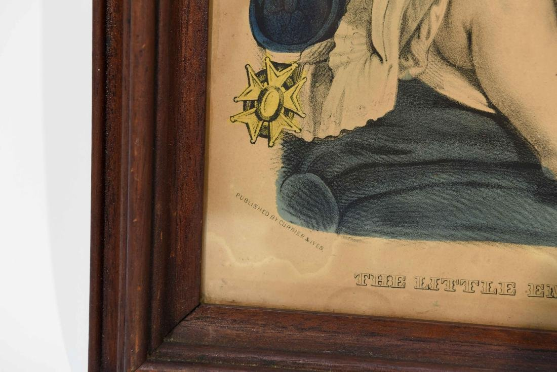 """CURRIER & IVES """"THE LITTLE EMPEROR"""" PRINT - 7"""
