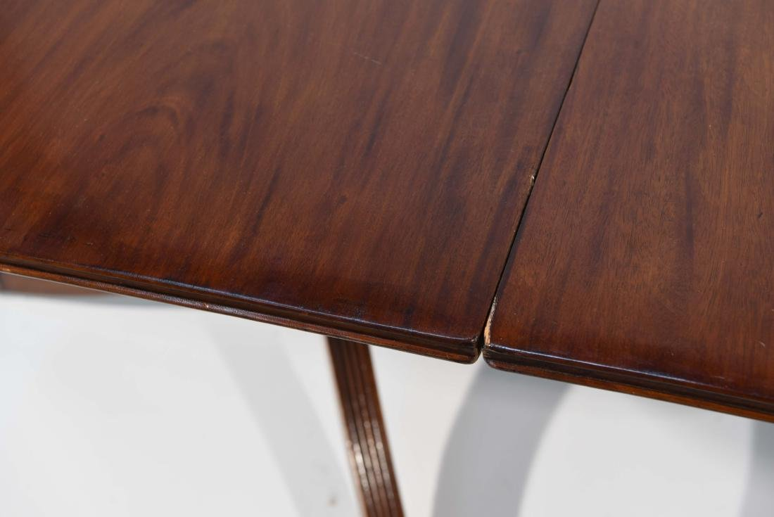 DOUBLE PEDESTAL DINING TABLE - 2
