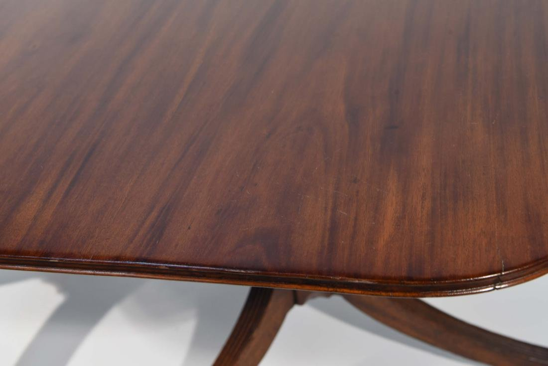 DOUBLE PEDESTAL DINING TABLE - 3