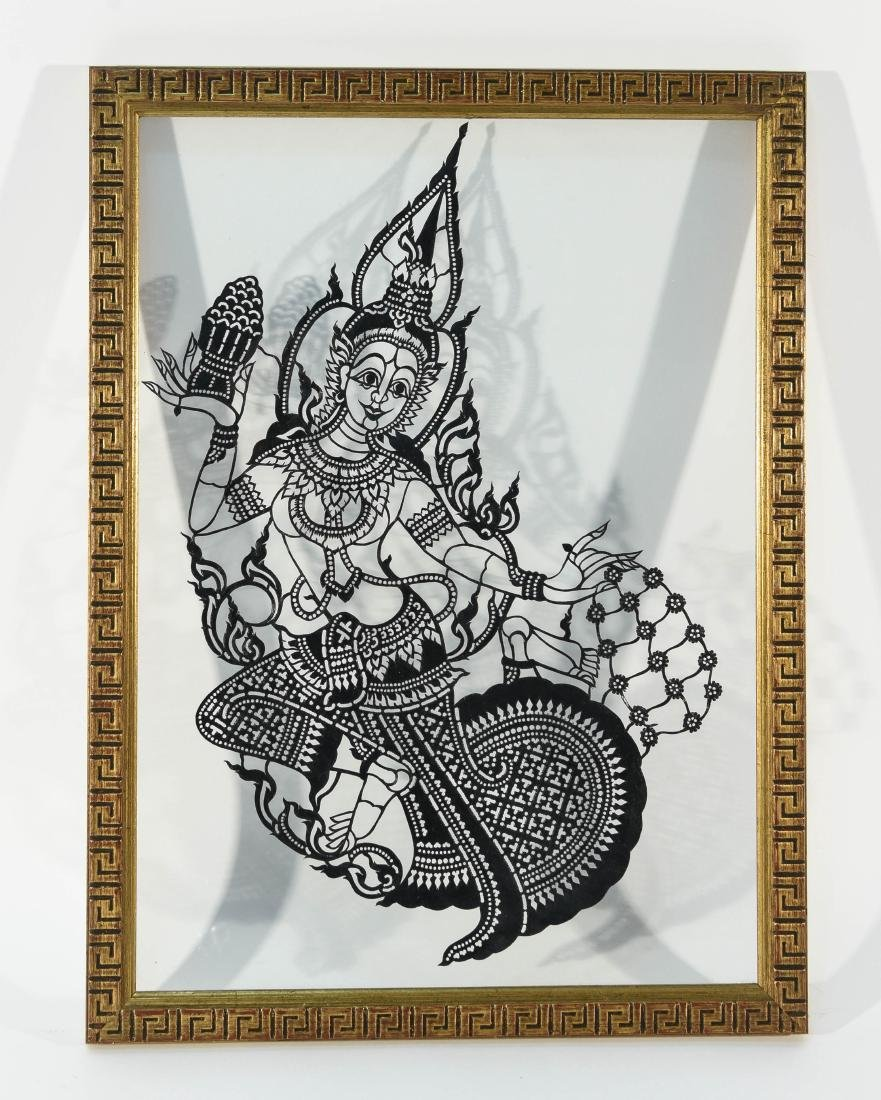 INDIAN GLASS ETCHING
