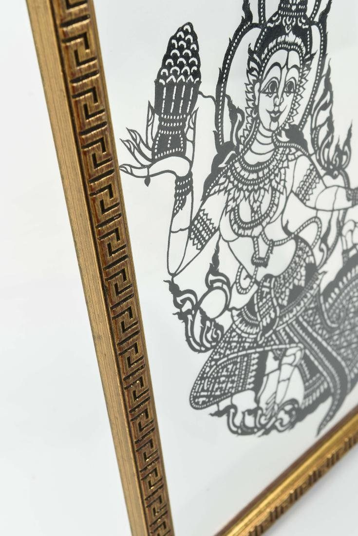 INDIAN GLASS ETCHING - 7