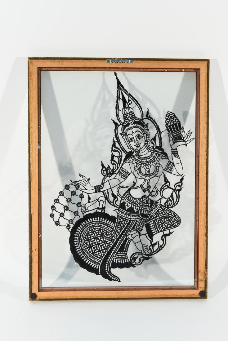 INDIAN GLASS ETCHING - 8