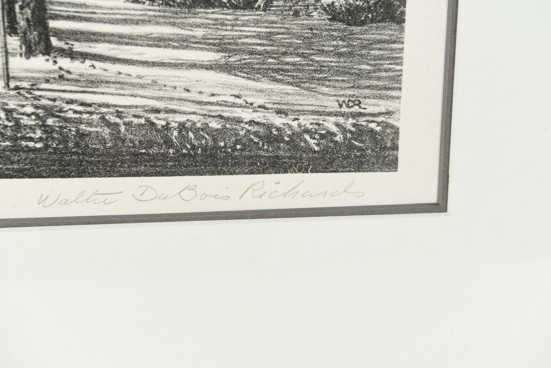 WALTER DUBOIS RICHARDS (AMERICAN 1907-2006) - 4