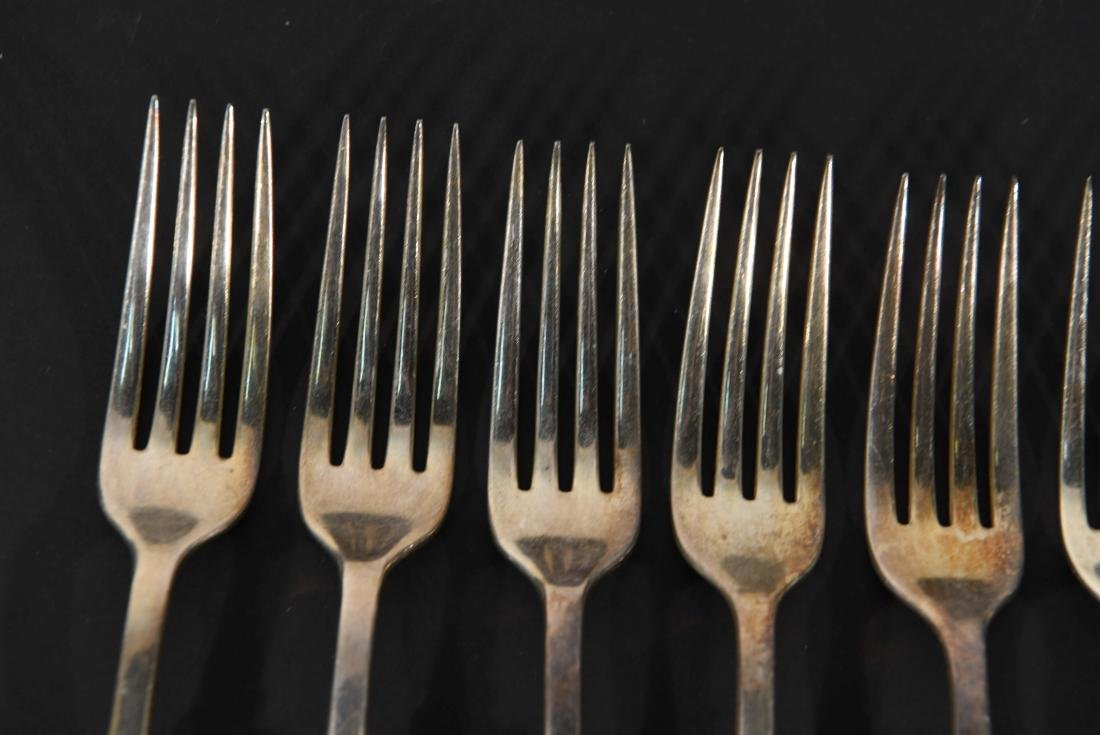 STERLING SILVER & MOTHER OF PEARL CUTLERY - 4