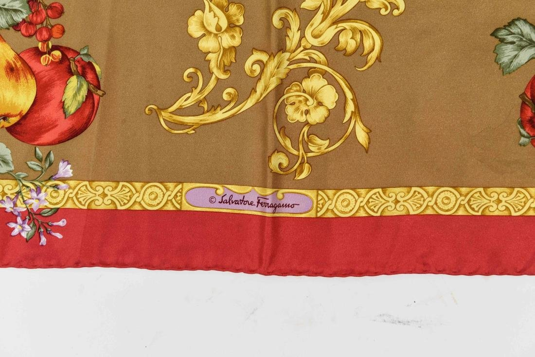 GROUPING OF SILK SCARVES INCL. YVES SAINT LAURENT - 3