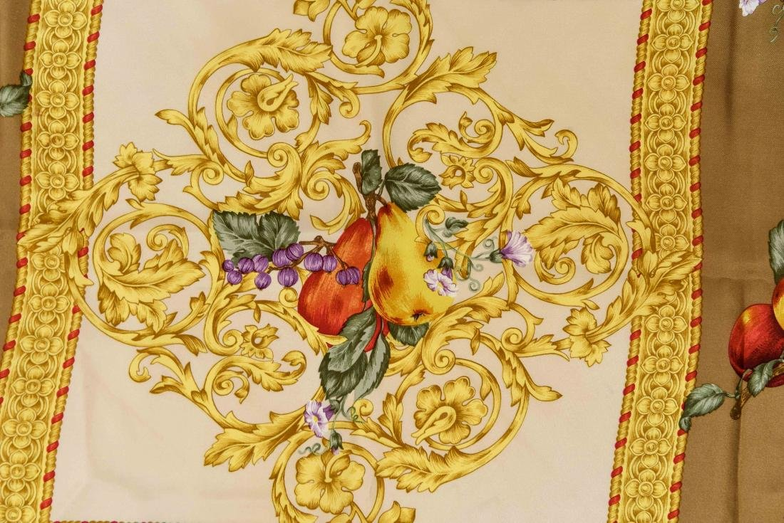 GROUPING OF SILK SCARVES INCL. YVES SAINT LAURENT - 4