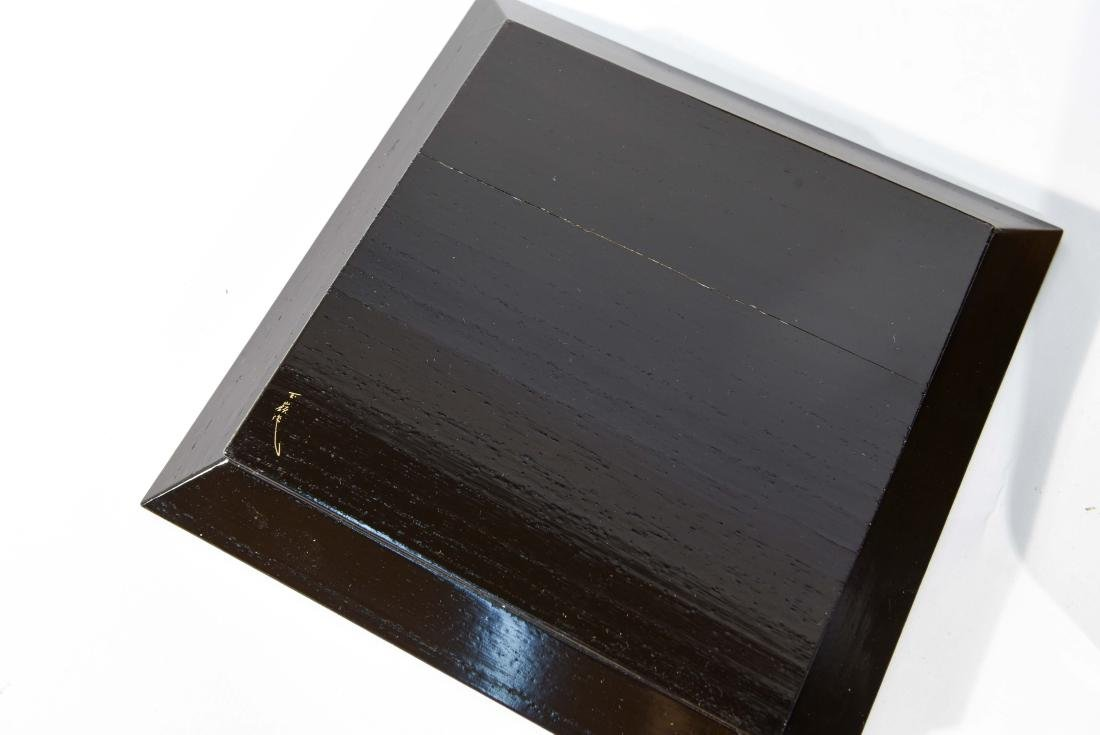 (2) BOXED JAPANESE LACQUER TRAYS - 7