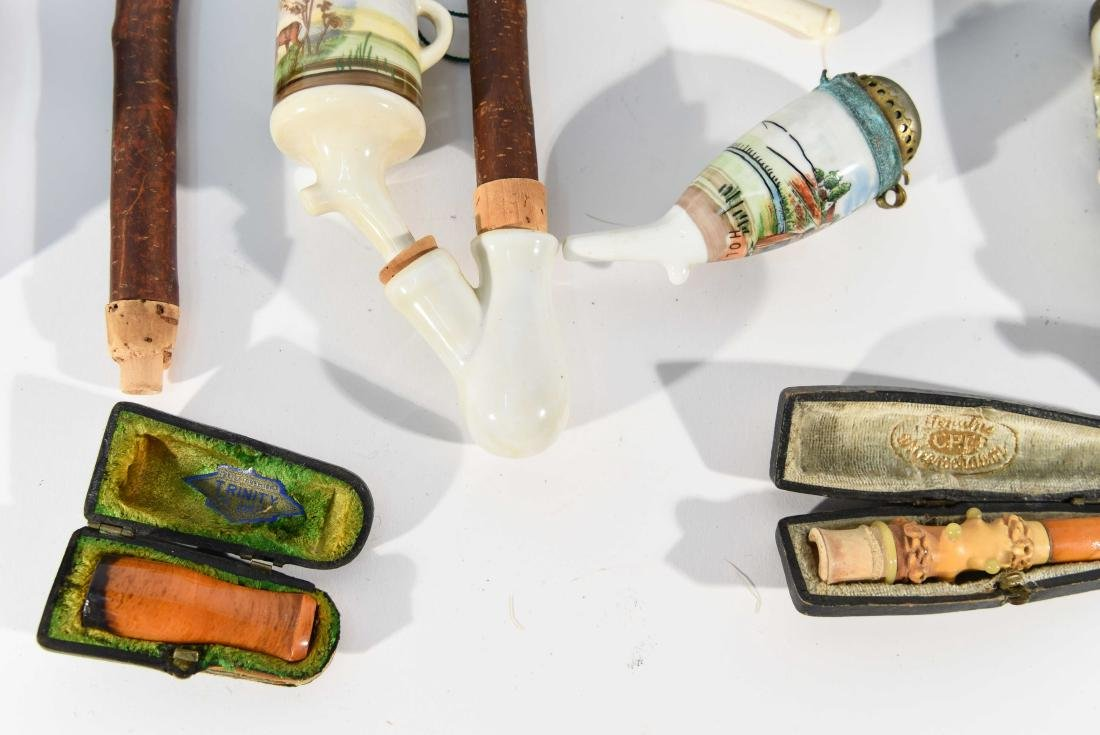 VINTAGE ASSORTED PIPE GROUPING - 3