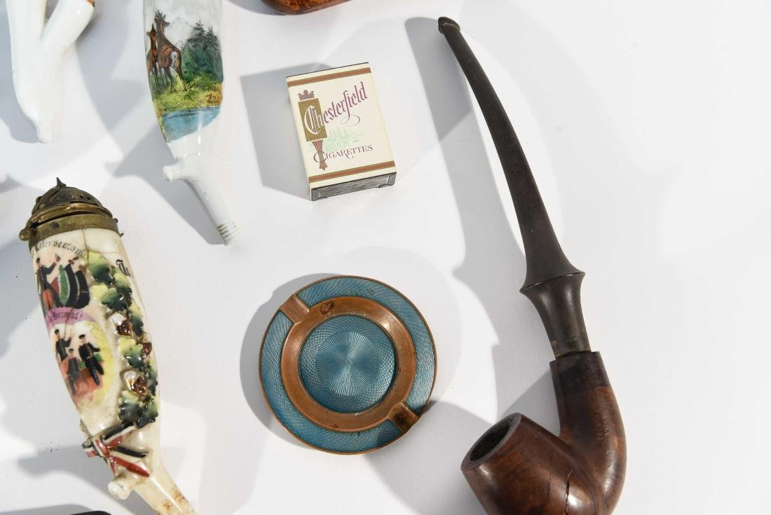 VINTAGE ASSORTED PIPE GROUPING - 5