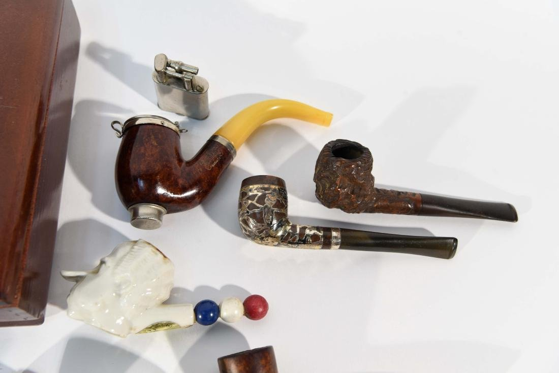 VINTAGE ASSORTED PIPE GROUPING - 6