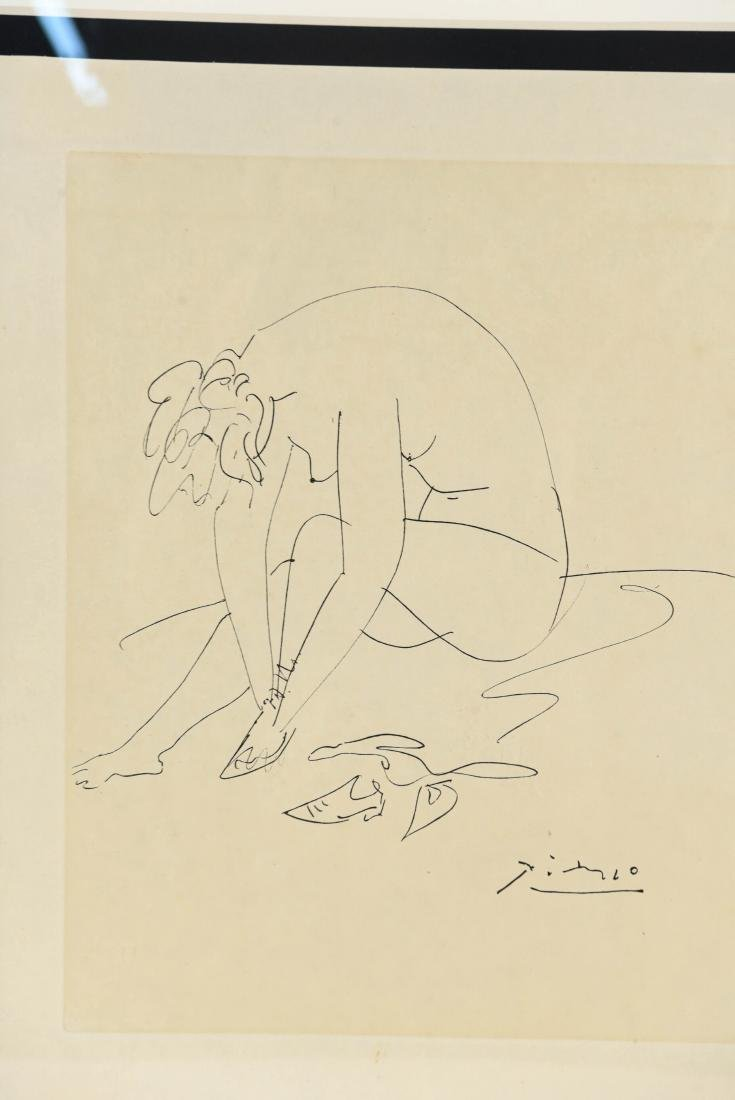 AFTER PICASSO DRAWING - 2