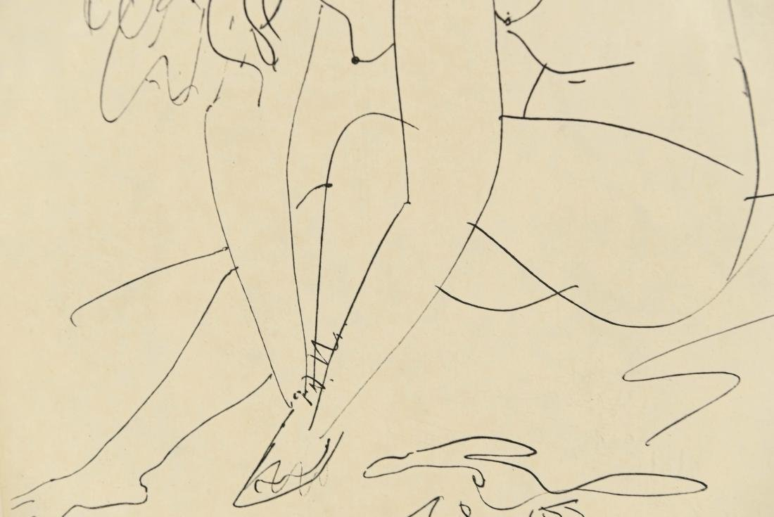 AFTER PICASSO DRAWING - 4