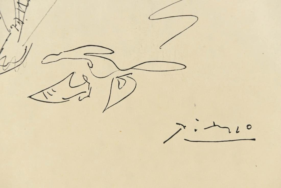 AFTER PICASSO DRAWING - 5