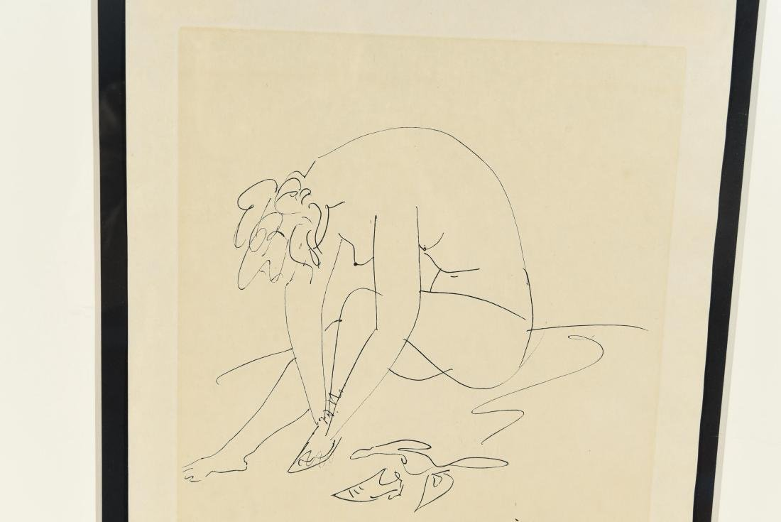 AFTER PICASSO DRAWING - 7