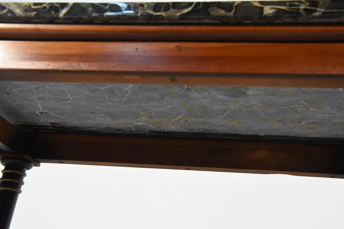 MARBLE TOP CLASSICAL STYLE WOODEN CONSOLE - 9