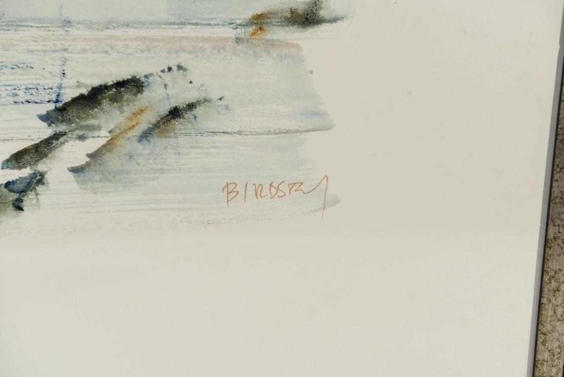 (2) BIRDSEY WATERCOLORS - 7