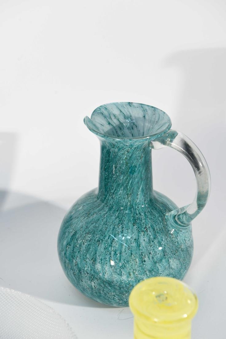 GROUPING OF ART GLASS INCL. KOSTA BODA - 6