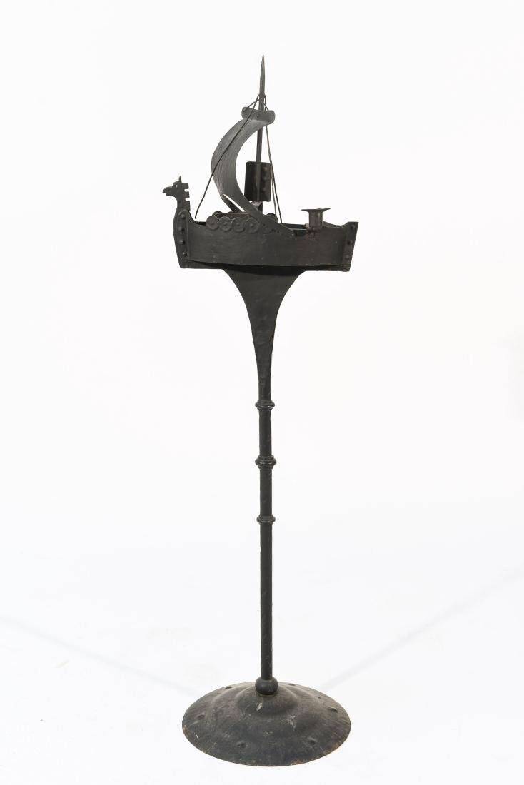 VIKING SHIP SMOKING STAND