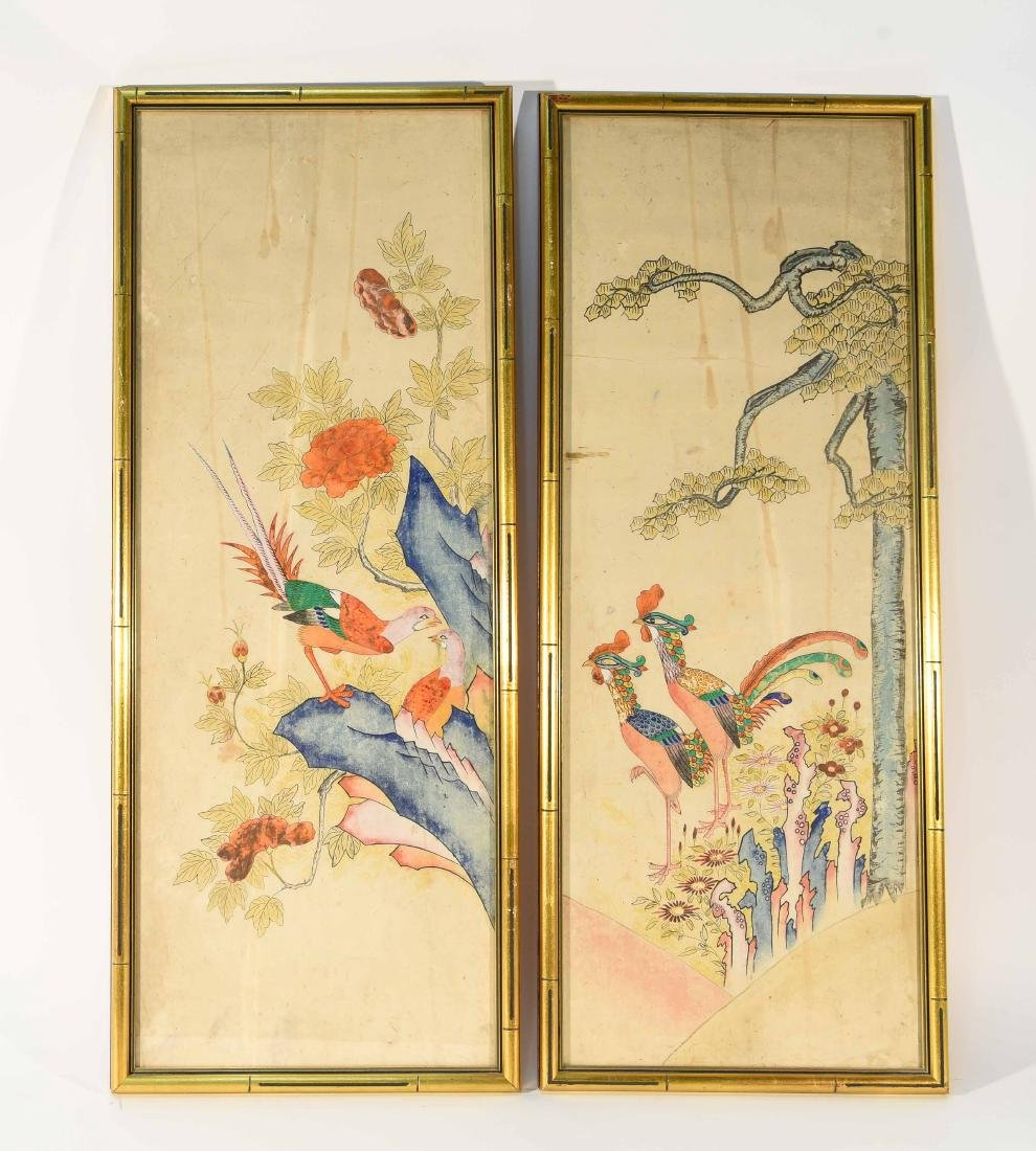 PAIR OF CHINESE PAINTINGS