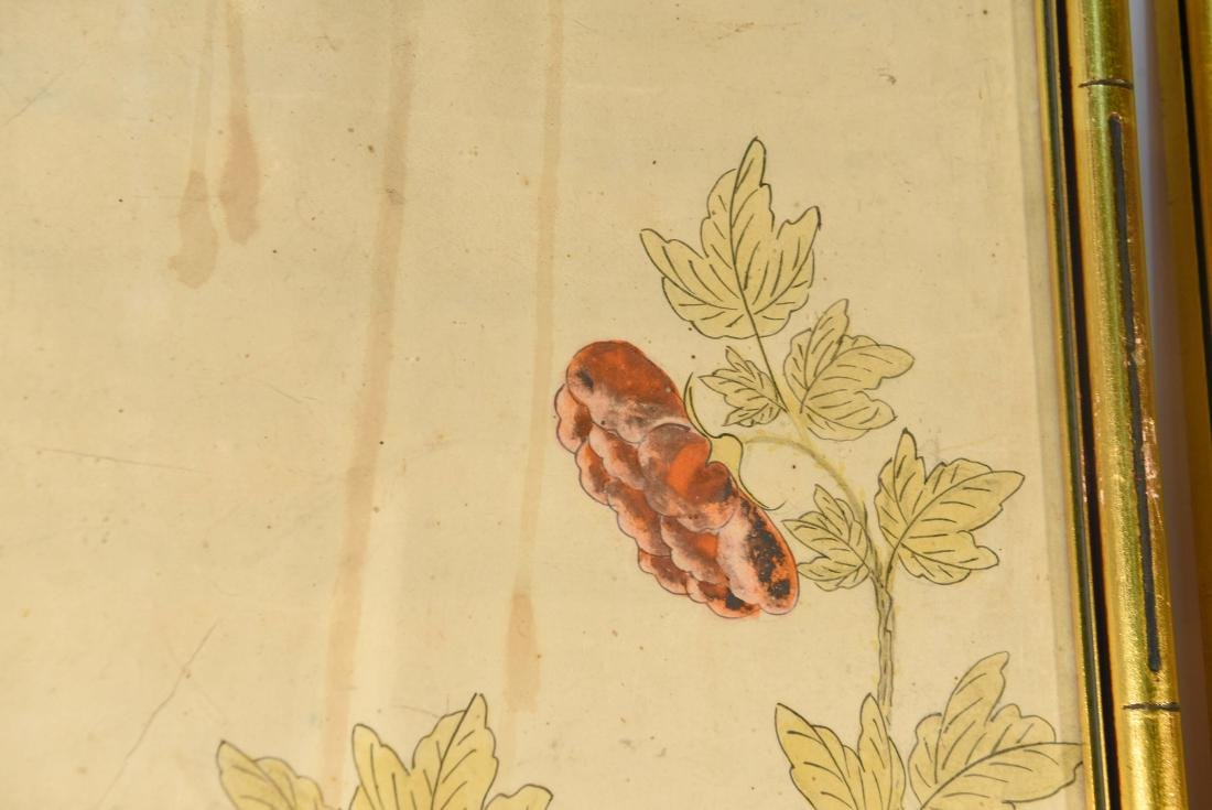 PAIR OF CHINESE PAINTINGS - 2