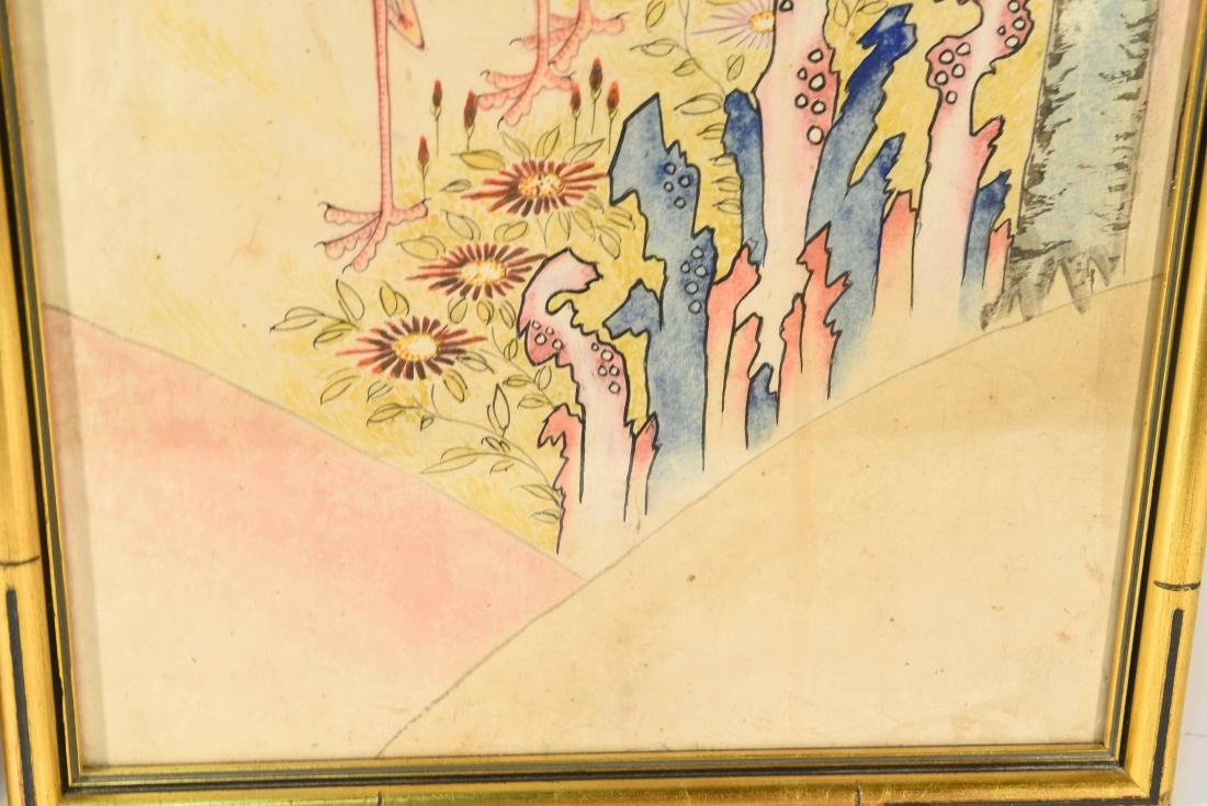 PAIR OF CHINESE PAINTINGS - 5