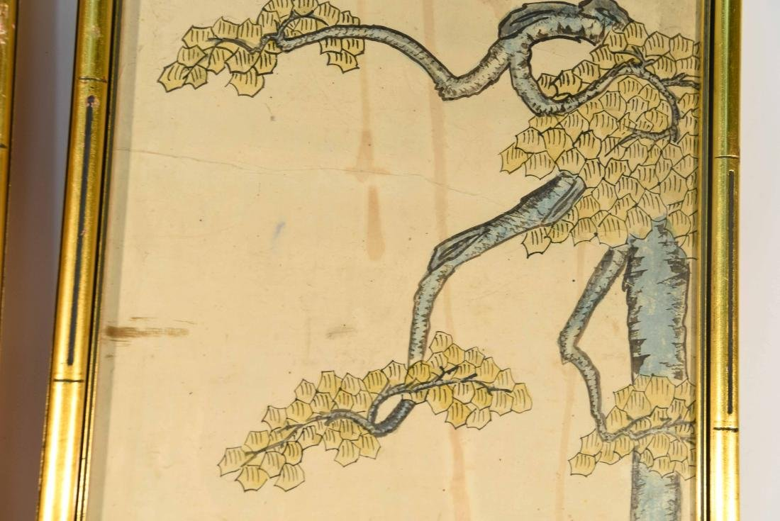 PAIR OF CHINESE PAINTINGS - 7