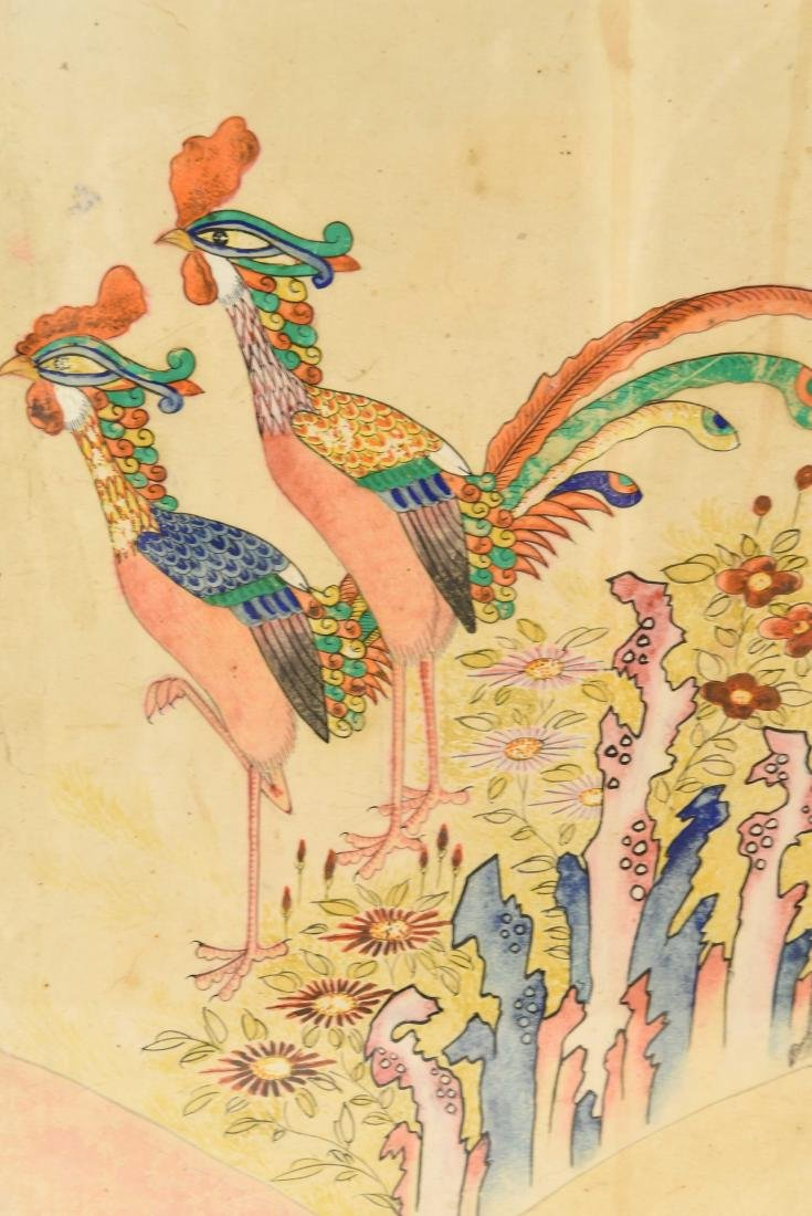 PAIR OF CHINESE PAINTINGS - 9