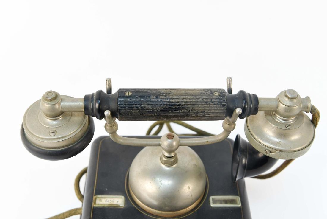 VINTAGE DANISH ROTARY CRADLE PHONE KJOBENHAVNS - 4