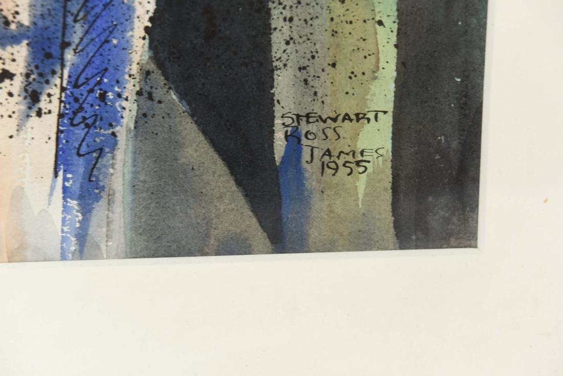 STEWART ROSS JAMES 1955 WATERCOLOR - 6