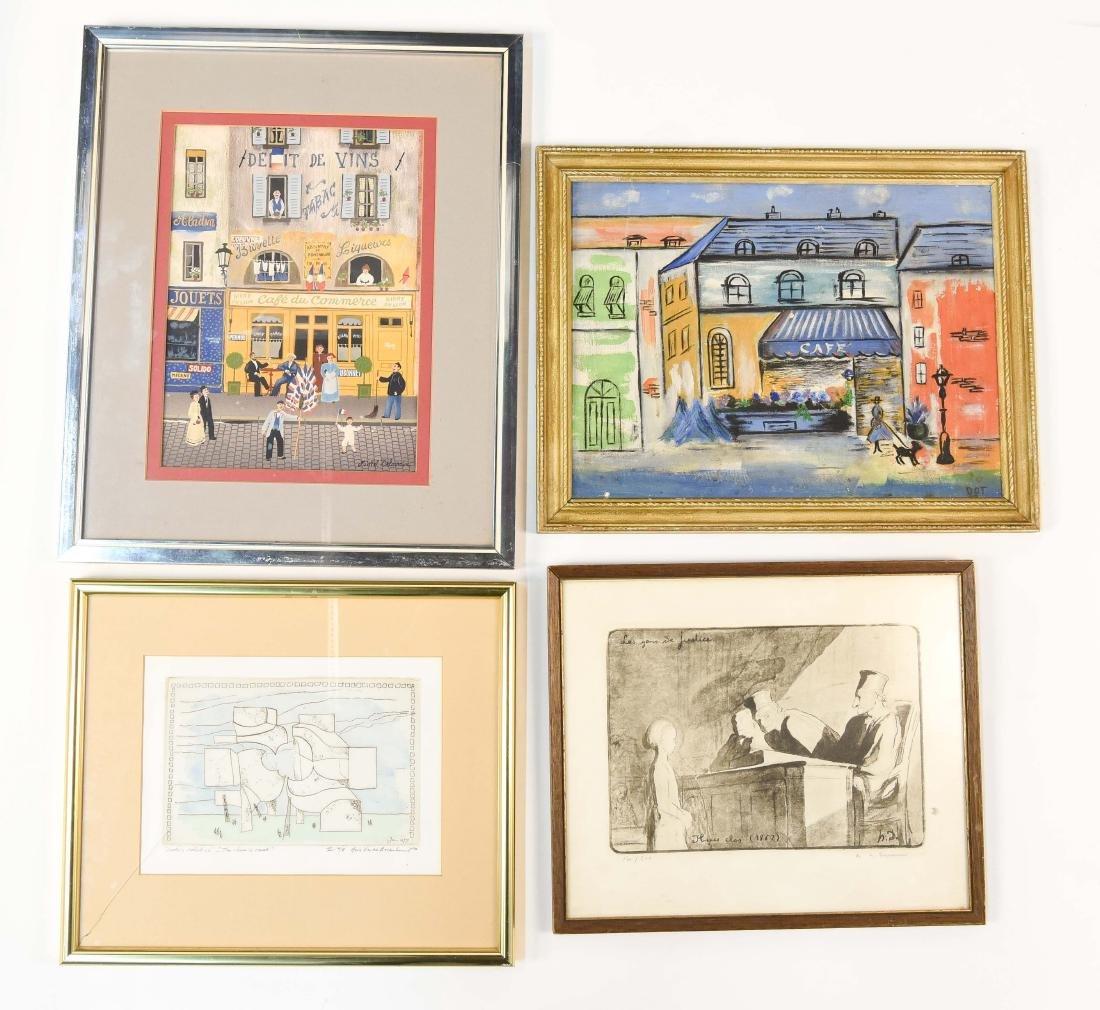 (4) GROUPING OF ART