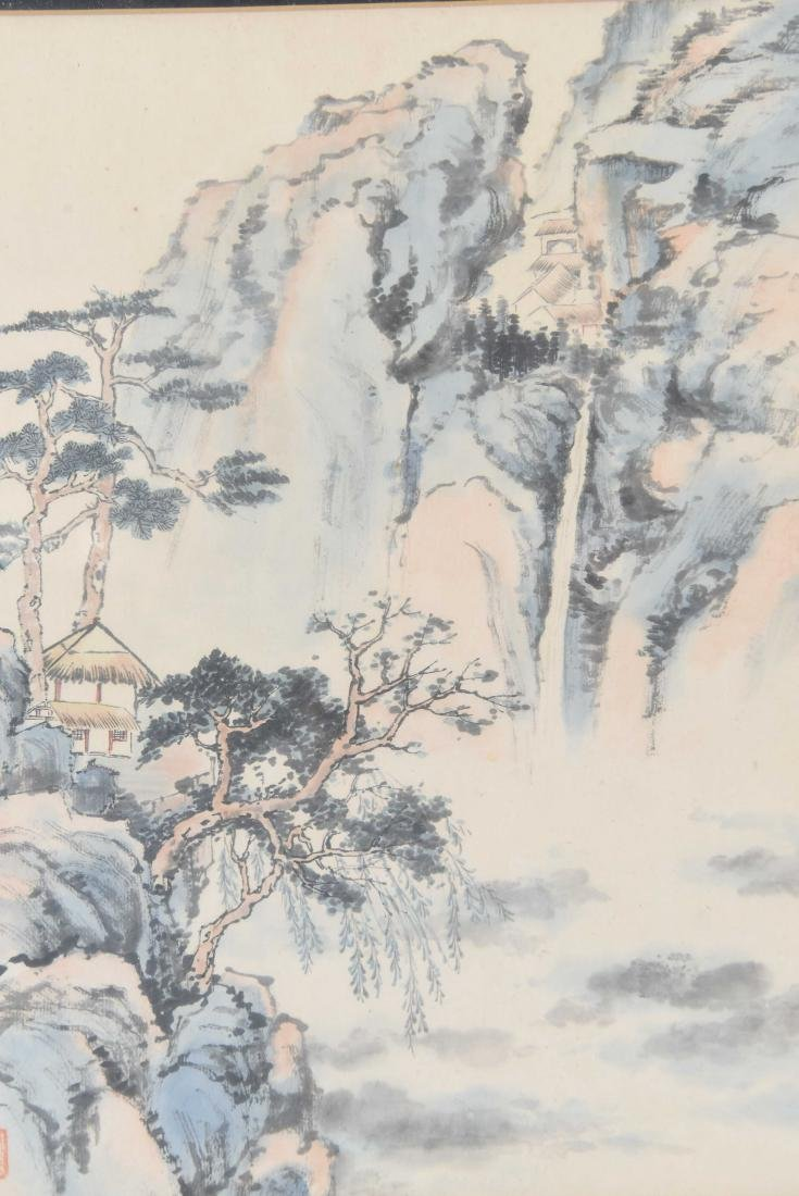 (4) CHINESE WATERCOLORS - 2