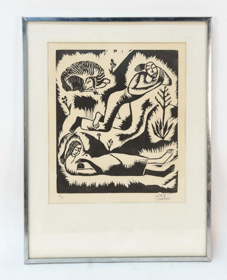 RUVEN WOODBLOCK