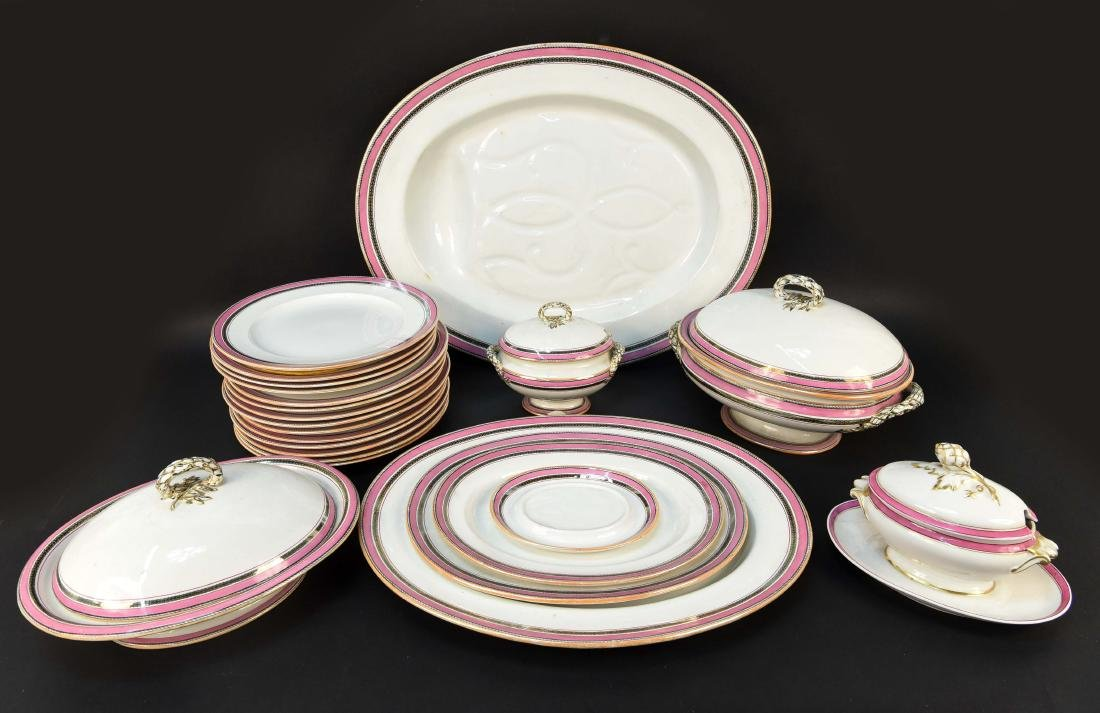 GROUPING OF COPELAND PORCELAIN