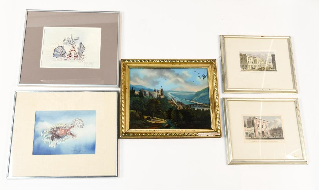 GROUPING OF PRINTS AND ORIGINAL ART