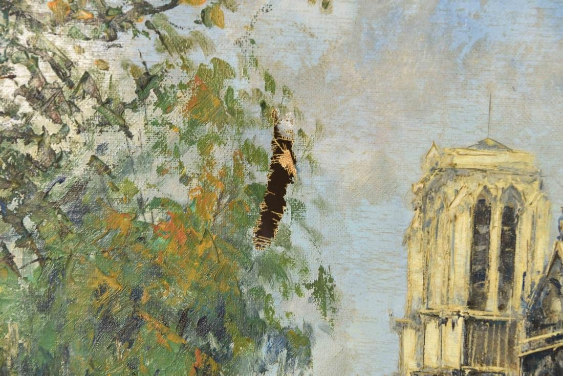TWO 20TH CENTURY OIL PAINTINGS - 3