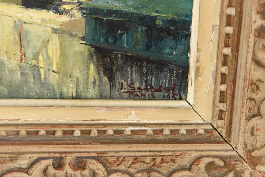 TWO 20TH CENTURY OIL PAINTINGS - 5