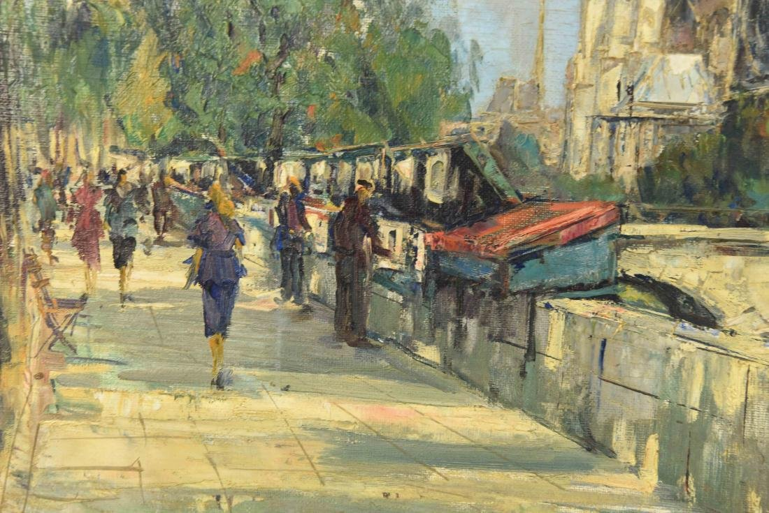 TWO 20TH CENTURY OIL PAINTINGS - 6