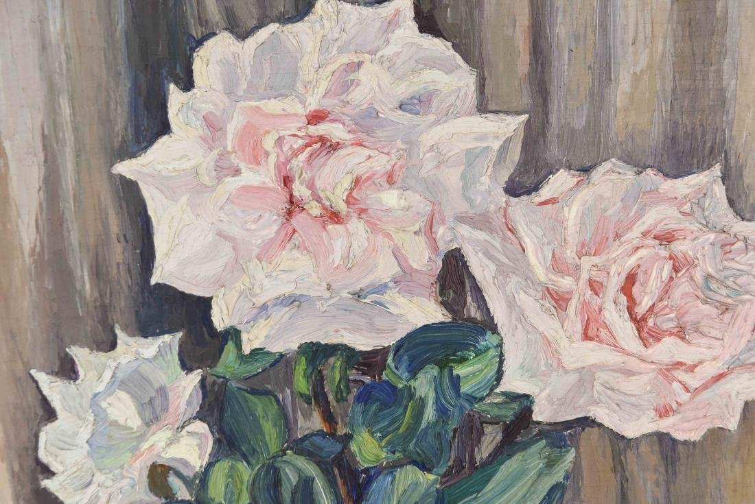 TWO 20TH CENTURY OIL PAINTINGS - 8