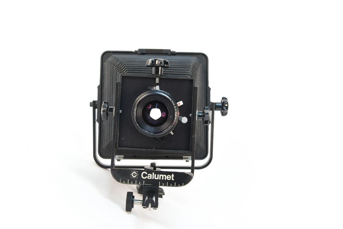 CALUMET 4X5 CAMERA W/ COPAL 0 SHUTTER - 8