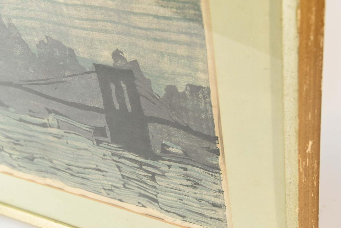 "COLOR BLOCK PRINT ""EAST RIVER"" - 9"