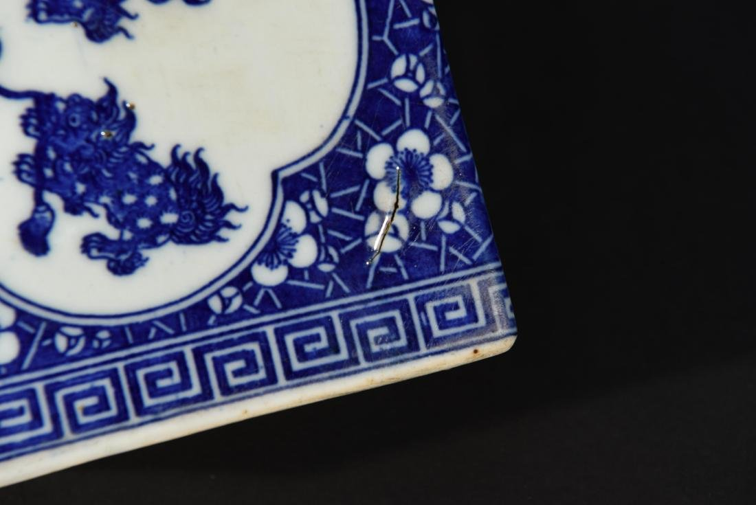 PAIR OF CHINESE PORCELAIN OPIUM PILLOWS - 6