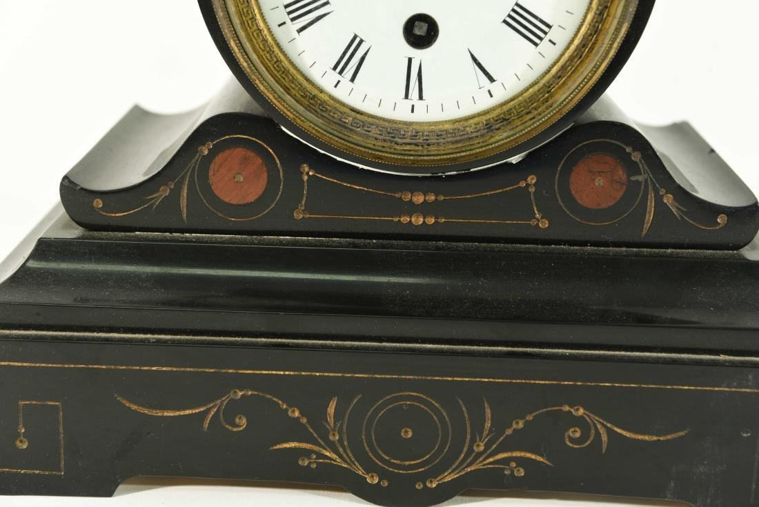 FRENCH MARBLE CLOCK - 3