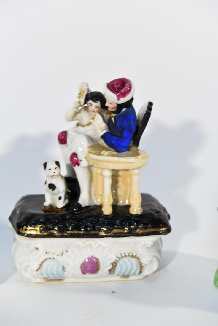 GROUPING OF MINIATURE PORCELAIN FIGURINES - 5