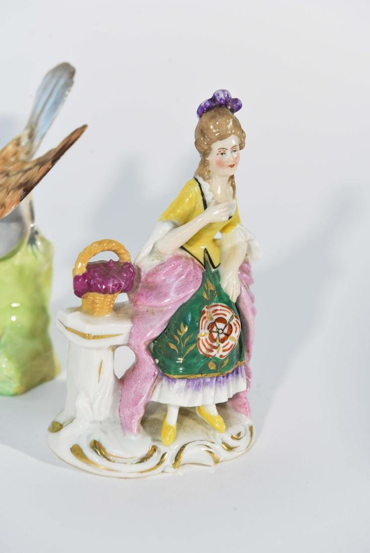 GROUPING OF MINIATURE PORCELAIN FIGURINES - 7