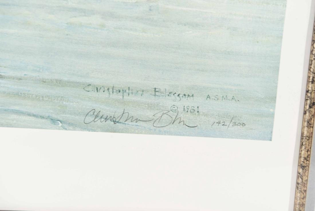 "CHRISTOPHER BLOSSOM ""WESTPORT 1878/ 1981"" PRINT - 7"